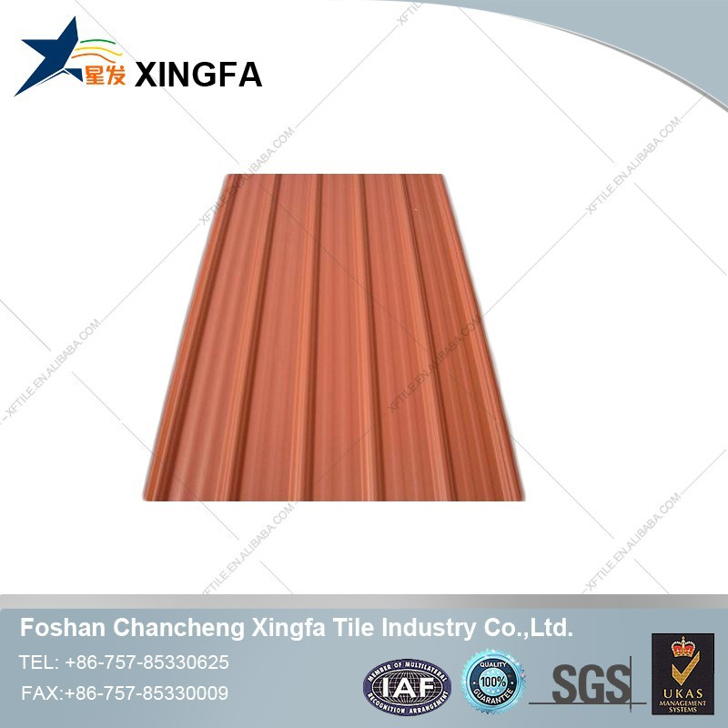 Garden shed building material UPVC trapezium roofing tile sandwich plastic roof panels