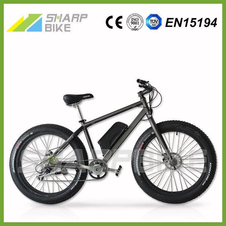 Lithium battery powered fat tire electric bicycle, electric mountain bicycle, mountain electric bicycle