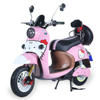 60V Pink Color Mini Electric Motorcycle