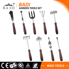 9 pieces different kinds of names of gardening digging tools