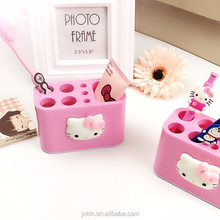 wholesale Yiwu high quality pink lovely toilet requisites toothbrush storage box toothbrush holder