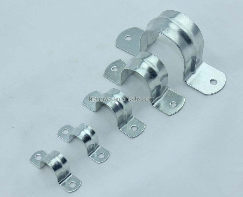 American Type Hose Clamp Vertical Wall Mount Pipe Clamp