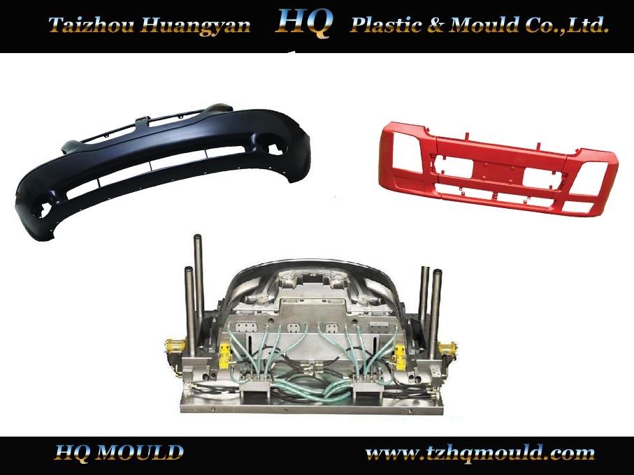 manufacturing car Rear Bumper Mould-011,bumper mould for plastic injection