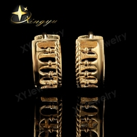 Earrings Colossuem 24K Gold Earrings 1 Dollar