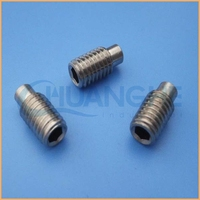 Factory professional manafacture slotted hex socket cap grub screw