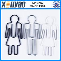 2015 promotional gifts custom shape man shape paper clip magnet