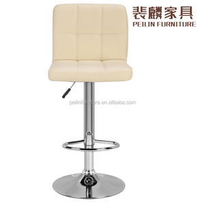 Modern Style Bar Stool Leather Swivel High Bar Stool Chair salon chair