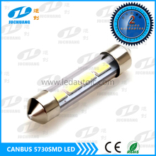 New design Strong canbus 5730SMD led bulbs 31mm 39mm 42mm 36mm festoon T10 led 12V 24V