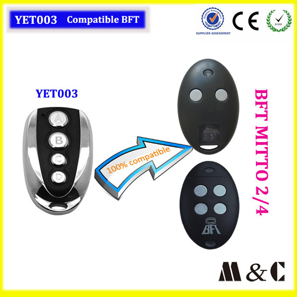 Compatible With BFT MITTO 2 Remote Control Good quality