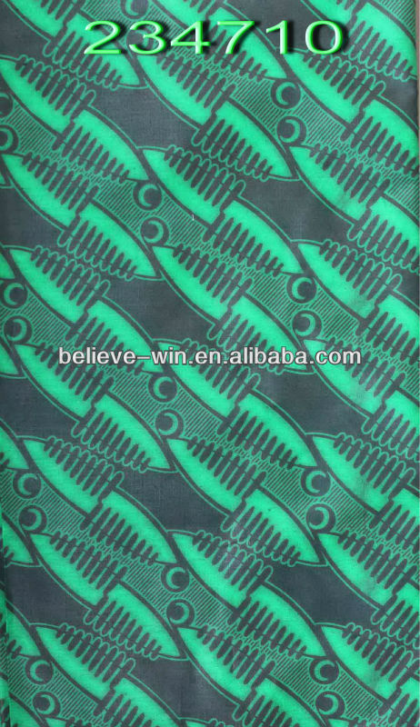 100% cotton african veritable deluxe real wax print fabric