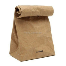Food grade pe coated kraft paper bag for snack butcher paper bag packing candy coffee beans bag