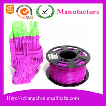 ODM shenzhen factory to supply 3D printer filament for 3D printer of 1.75mm ABS Material
