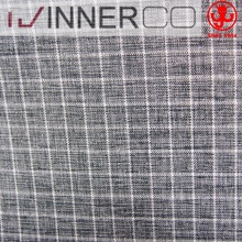 100% polyester melange small check fabric for suit