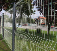 Fashion Bending Curved Fence/ISO9001 Manufacturer Metal Fence