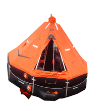 SOLAS approved Inflatable life raft with a cheap price