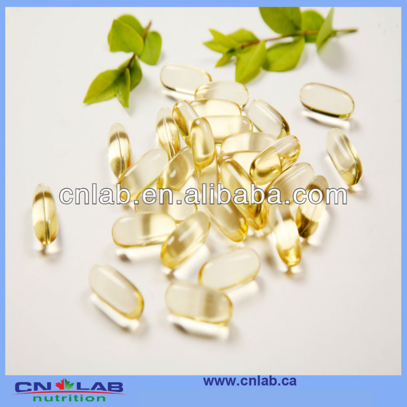 Custom manufacture Double Strength Omega-3 Fish Oil Softgel Heart Health