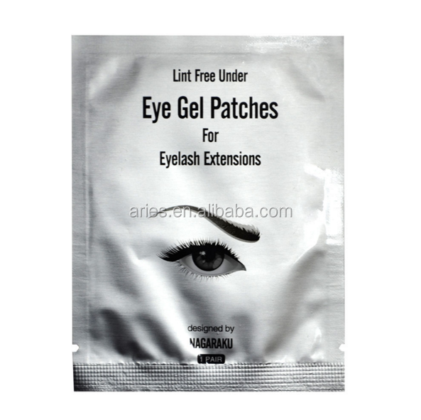 Thin Gel Eyelash Extension Under Eye Pads: Lint Free (patches)