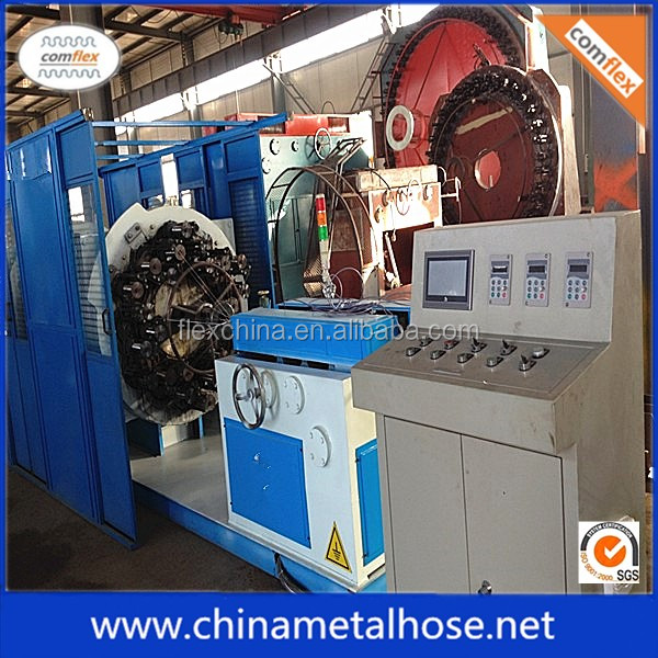 stainless steel flexible hose 16 spindle wire braiding machine manufacturers