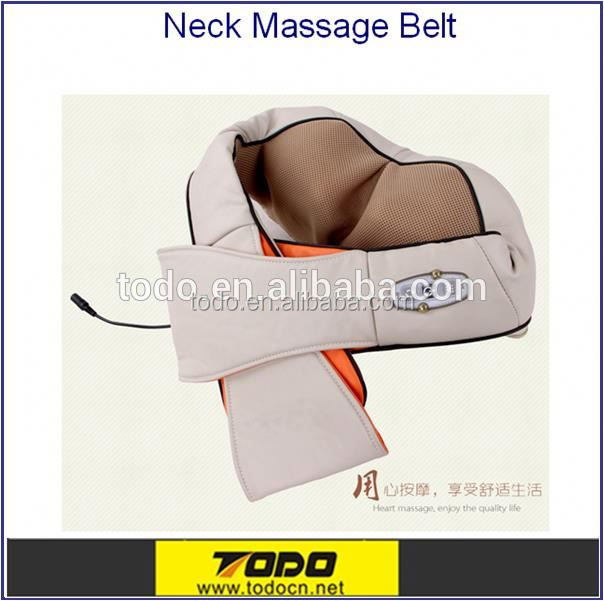 kneading shoulder massager UK market neck massager belt Shiatsu massager