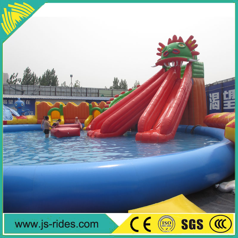 china inflatable product of inflatable water slide park sale