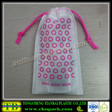 wholesale non woven small drawstring bag drawstring pouch for packing jewelry