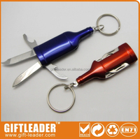 nail clipper with bottle opener function keychain