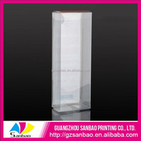 OEM Plastic Transparent Luxury Gift Box Packaging with Clear PVC Window for Spoon Fork Knife Packaging