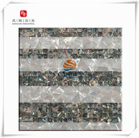 Luxury,Colorful,Home Decoration Shell Mosaic Mother of Pearl Shell Interior Wall Decoration Material for swimming ,villa,hotel