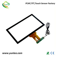 USB/I2C/RS232 21.5 inch multi touch screen frame for LCD display