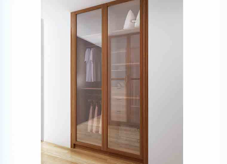 australia project wooden modern design clothes cabinet. Black Bedroom Furniture Sets. Home Design Ideas