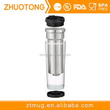 Promotion BPA free blank double wall heat insulated stainless steel sublimation mug travel mug coffee mug wholesale