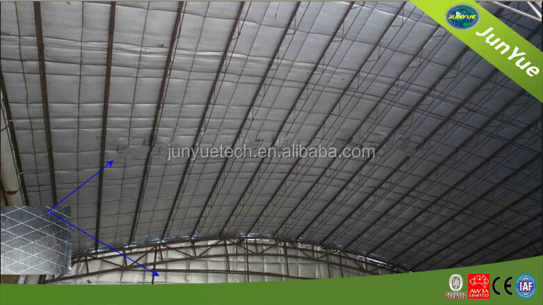 Heat insulation scrim kraft aluminum foil facing buy for Fireproof vapor barrier