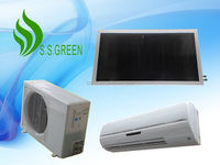 2016 hot sale 1ton wall mounted split solar air conditioning/AC solar air condtioner price/solar air conditioning