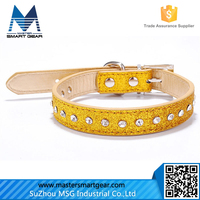 Promotion Pet Products PUNK Leather Dog Collar PT37