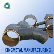 Seamless WPB A234 Carbon cross tee three links/Carbon steel pipe fittings