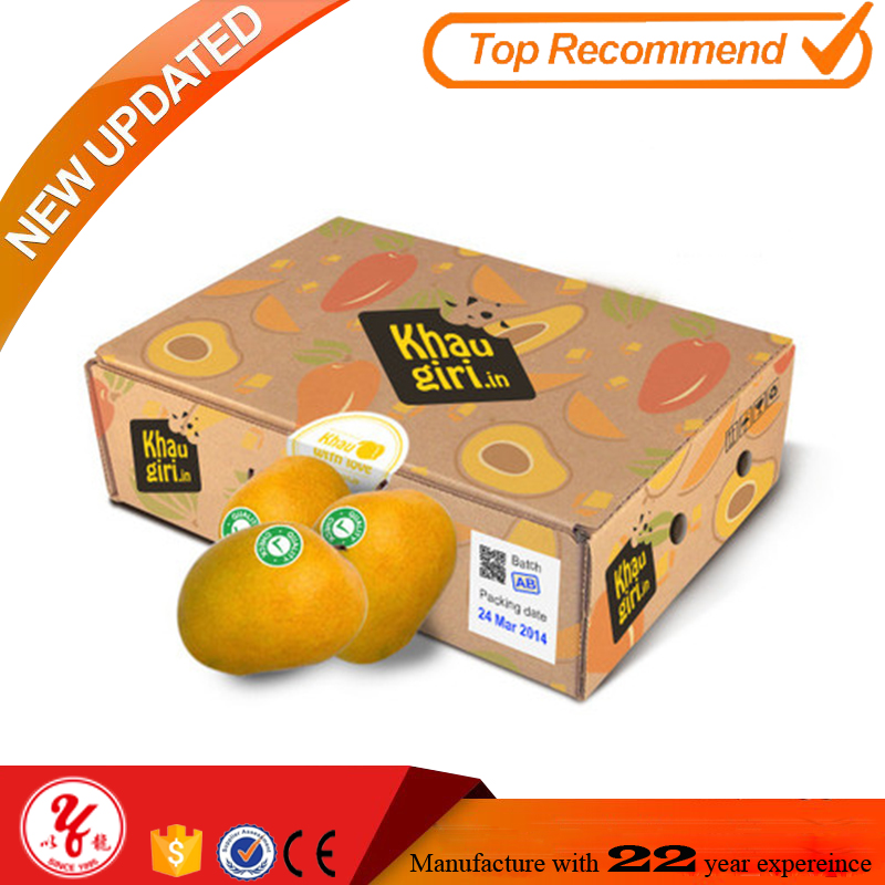 Wow unbelievable water repellency packaging carton box for banana