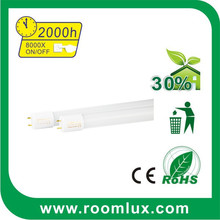 Chinese broken-proof packing 0.6M 1.2M 9W 18W Glass T8 led tube