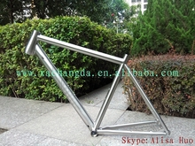 taper head tube titanium mtb bike frame inner line routing titanium mtb bicycle frame Di2 routing