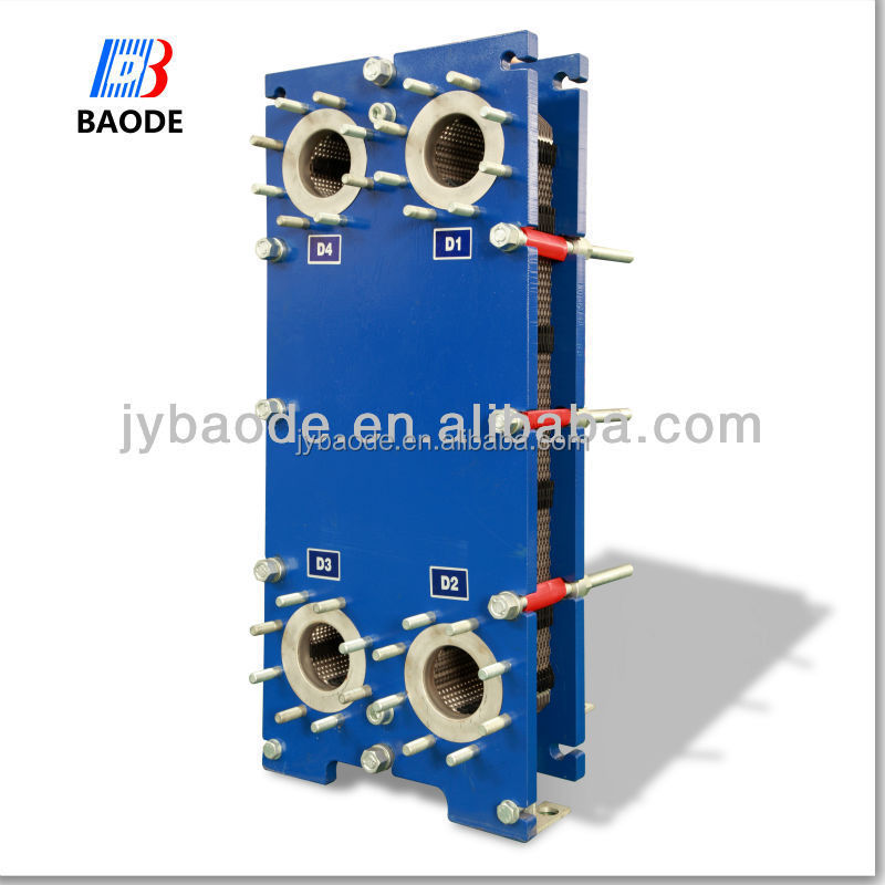 Alfa Laval M6 Replacement Frame and Plate Heat Exchanger 300kw - 800 kW 16 kg/s Liquid Flow Rate for general heating and cooling