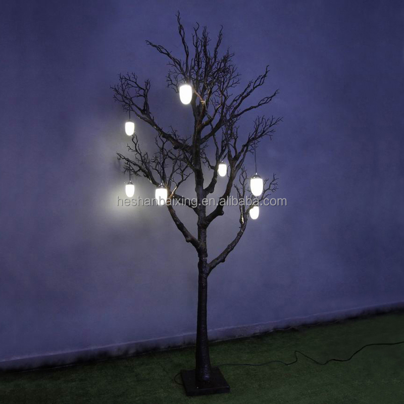 2.7m Halloween Decorative LED Tree Light Artificial Outdoor Tree