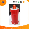 Red LED blinking function flameless memorial white grave candle grave lights candles