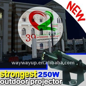outdoor led gobo projector