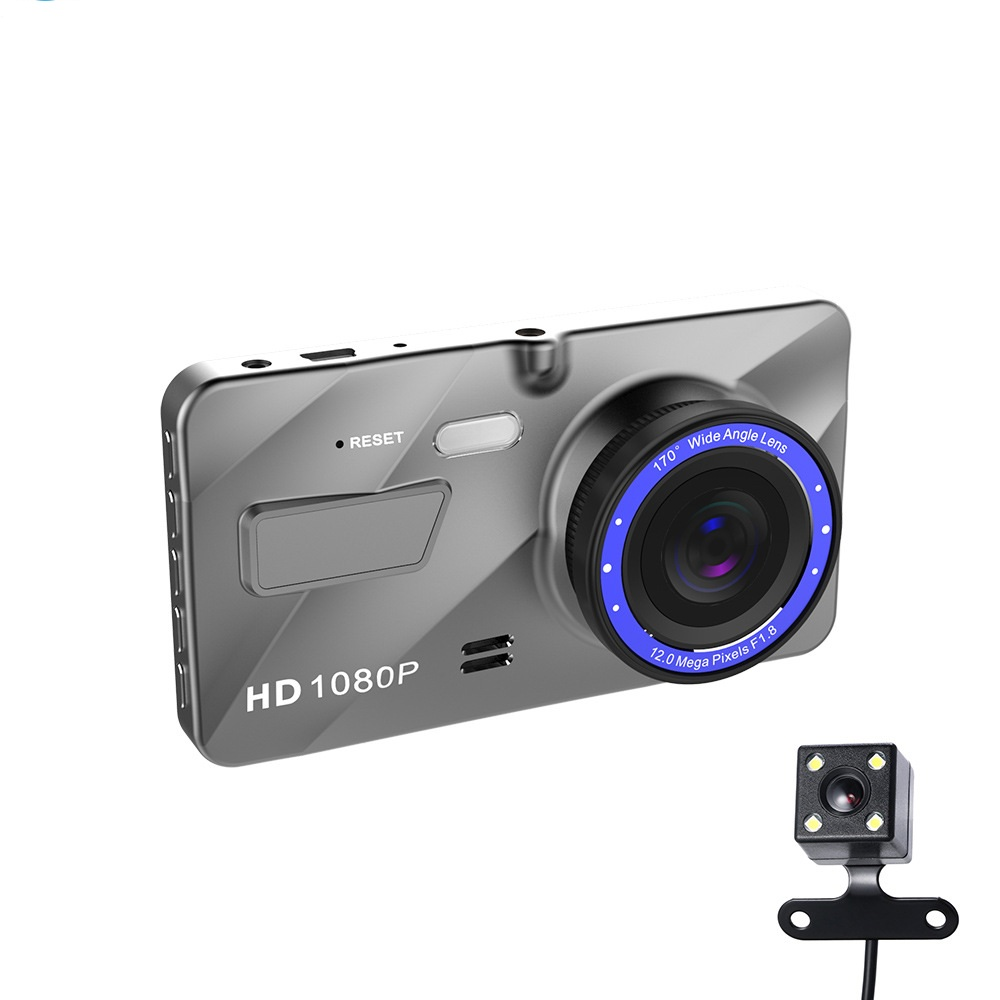 Cars dual lens Full HD 1080P dash camera with G-Sensor, Loop Recording,Night Vision