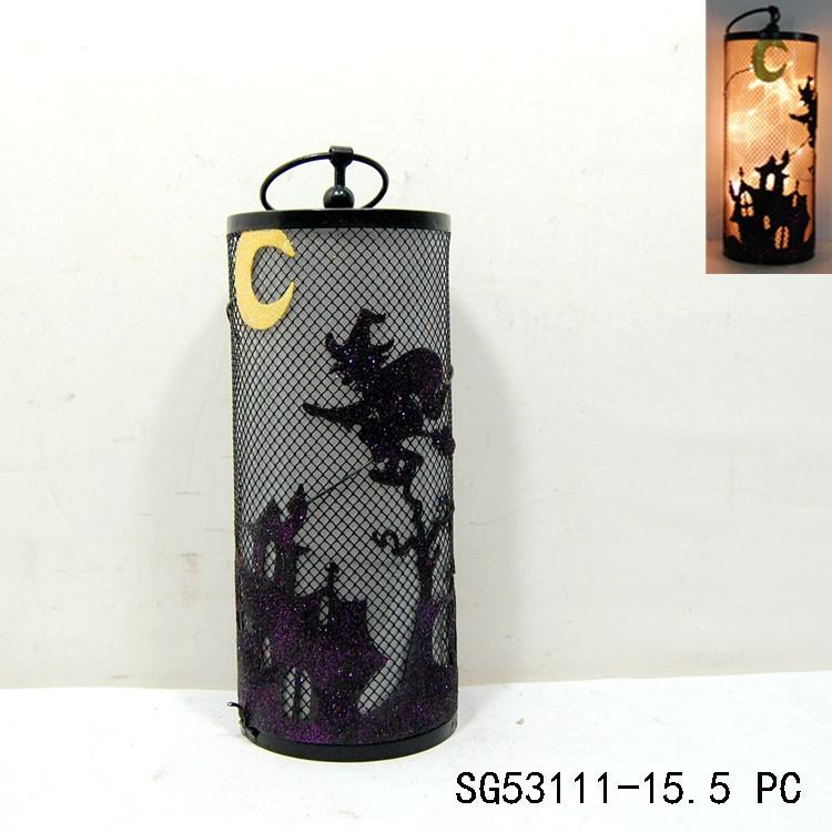 led hanging lantern light for halloween decoration