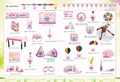 Wholesale kids birthday theme party decorations and party favors