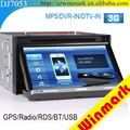 DJ7053 Touch Screen Car DVD Player with Phone Book Search