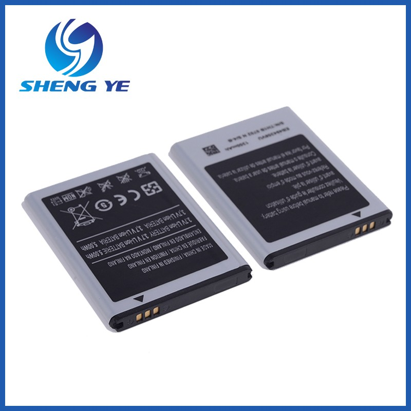 Quality Standard Mobile Phone battery EB494358VU Battery 3.7v 1350mah for SAMSUNG GALAXY ACE S5830