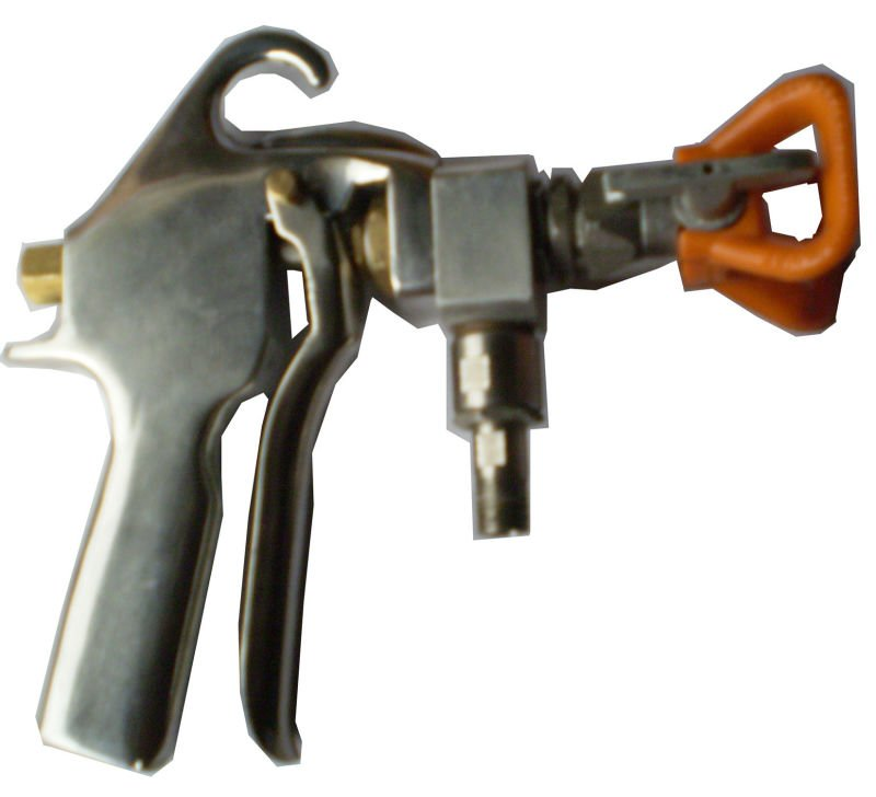 AIRLESS SPRAY PAINT GUN
