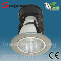 modern downlight recessed ceiling light fittings for shop lighting