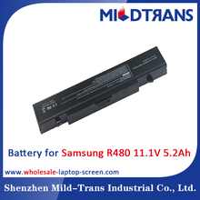 6 Cells 11.1V 5.2Ah 5200mAh Notebook Rechargeable Battery for Samsung R470 R480